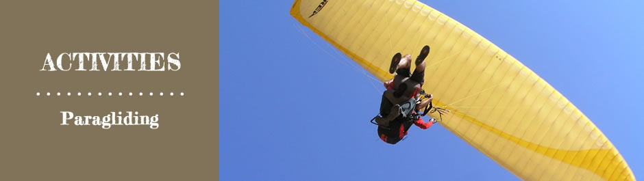 Activities Paragliding